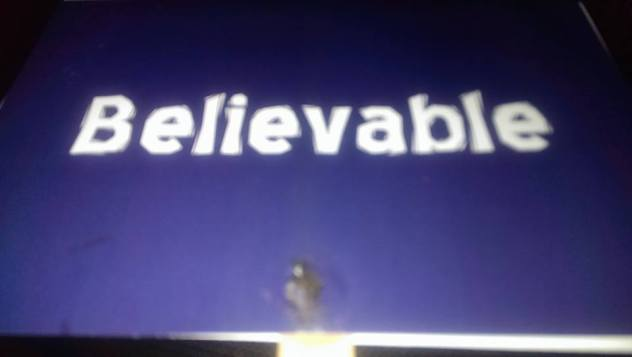 Believeable